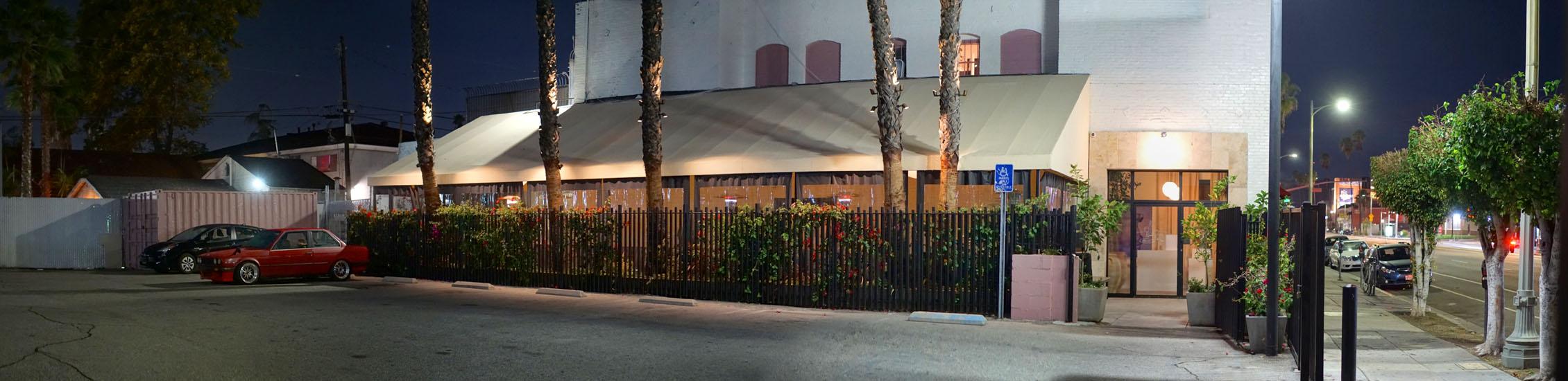 Bar Restaurant Exterior