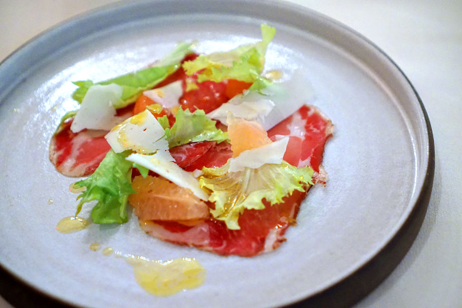 Coppa with Grapefruit
