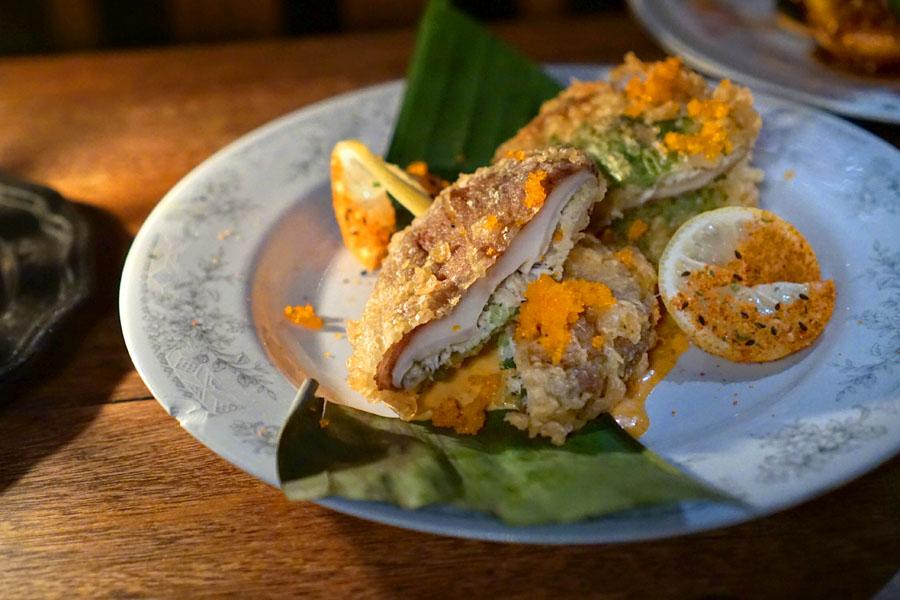 Crab Tempura Mushrooms
