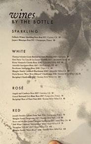 Piccalilli Wine List