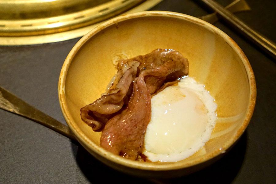 A5 Miyazaki Wagyu (with Egg)