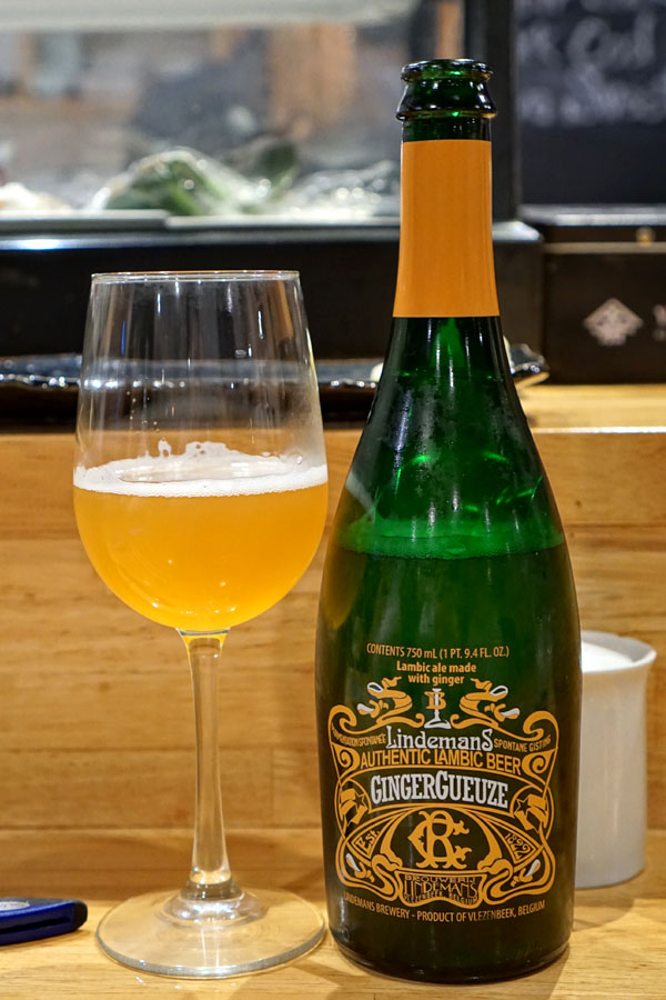 2017 Lindemans GingerGueuze