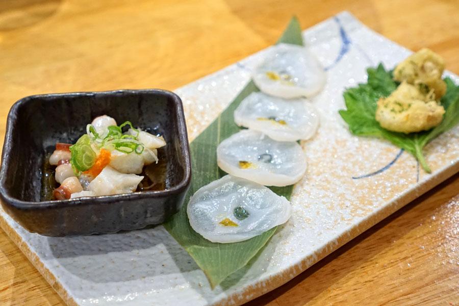 Fresh Octopus Platter / Tako Moriawase