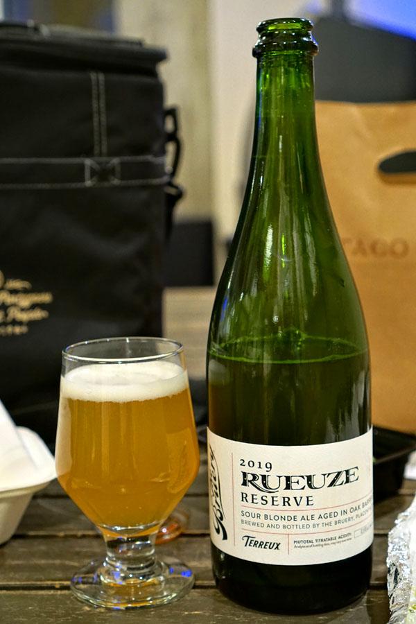2019 The Bruery Terreux Rueuze Reserve