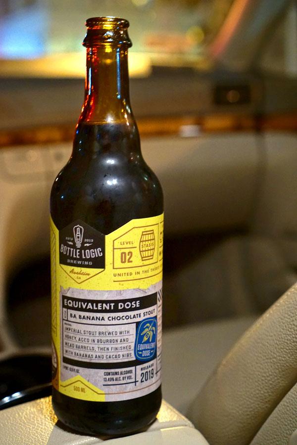 2019 Bottle Logic Equivalent Dose
