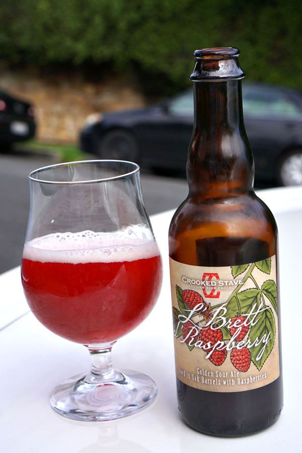 2015 Crooked Stave L'Brett d'Raspberry