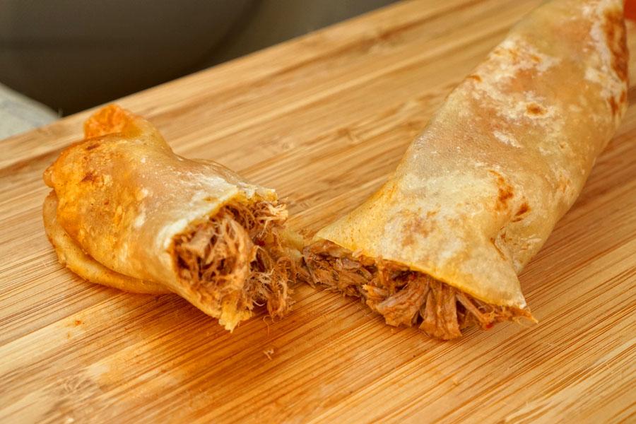 Birria Burrito (Cut Open)