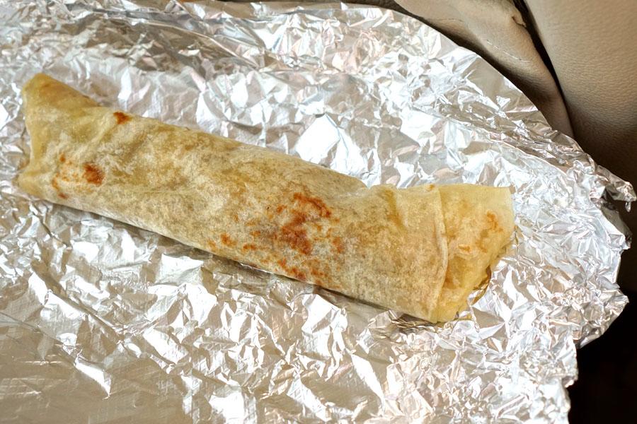 Deshebrada Burrito