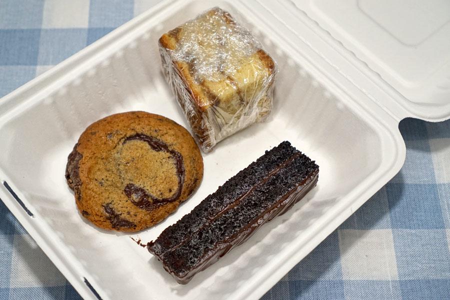 baked goods assortment