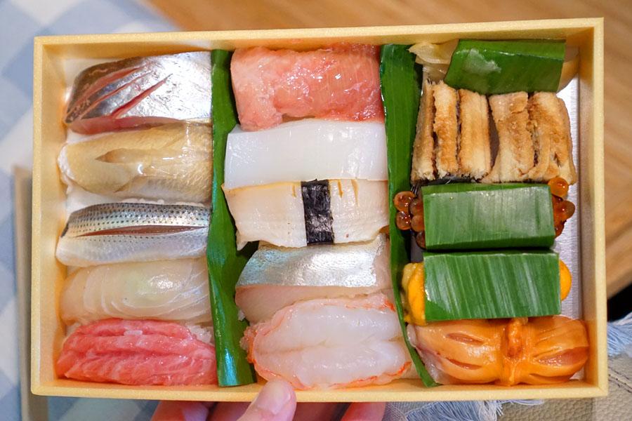 Sushi Ii Omakase Takeout (Overhead)