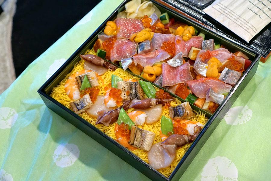 Sushi I-Naba Bara-Chirashi