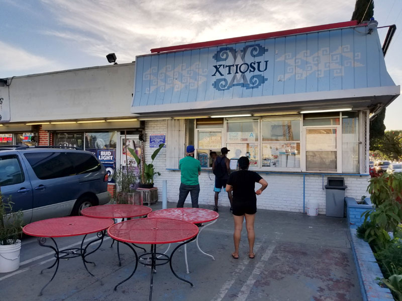 X'tiosu Kitchen Exterior