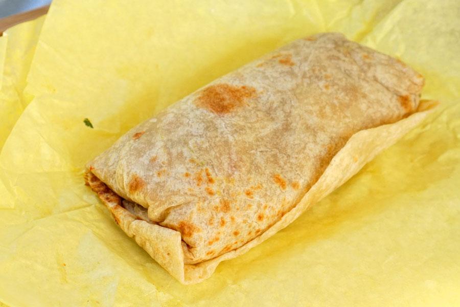 Chile Relleno Burrito + 1 Choice of Meat - Carnitas