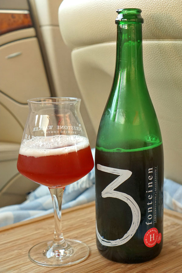 2018 Drie Fonteinen Hommage Bio Frambozen with Honey