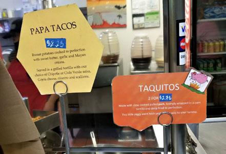 Best Fish Tacos in Ensenada Specials Menu