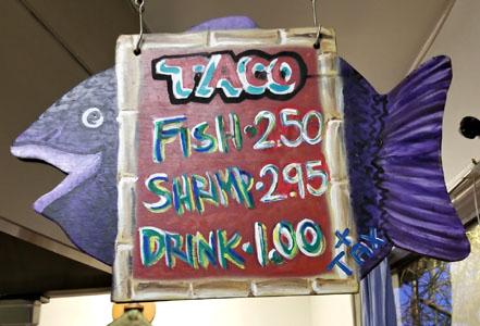 Best Fish Tacos in Ensenada Menu