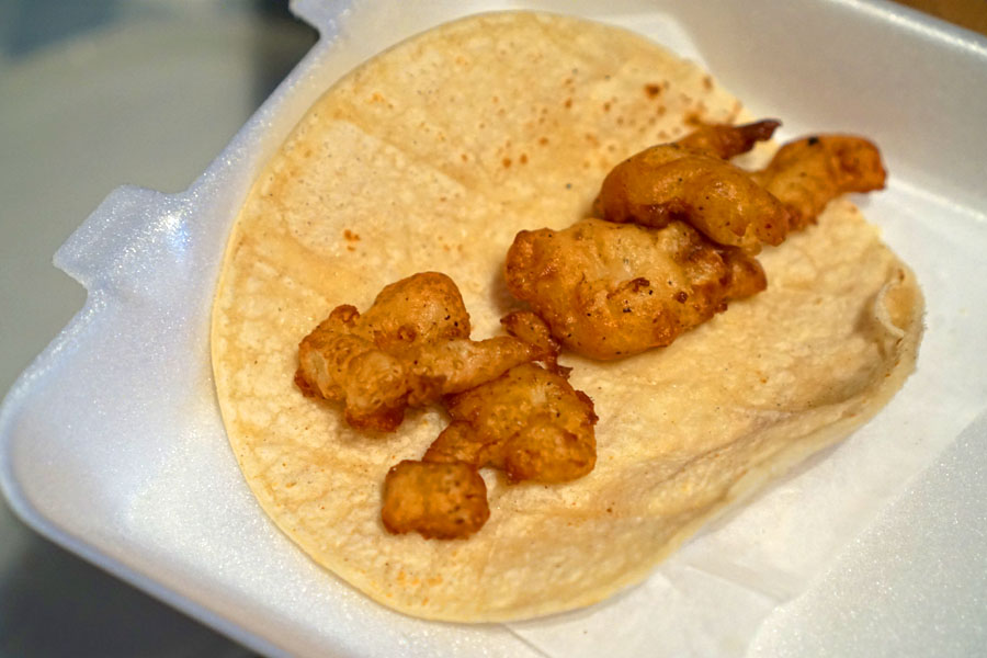 Shrimp Taco (Bare)