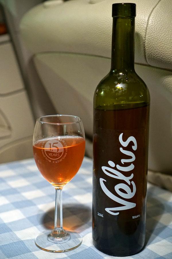 Pradarolo 'Velius,' rosé of Barbera, Piedmont, Italy