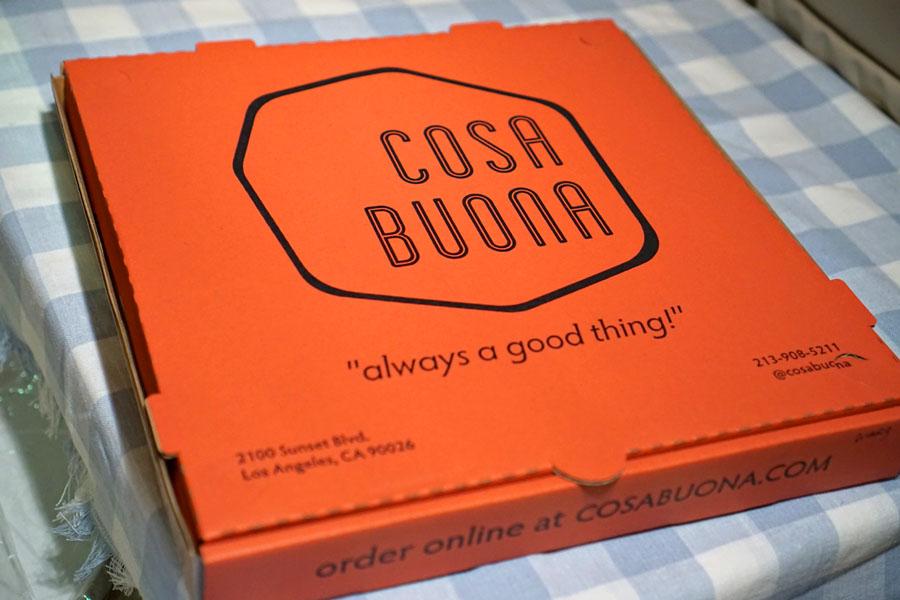 Cosa Buona Pizza Box