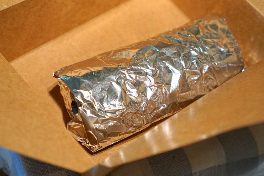 Breakfast Burrito (Wrapped)