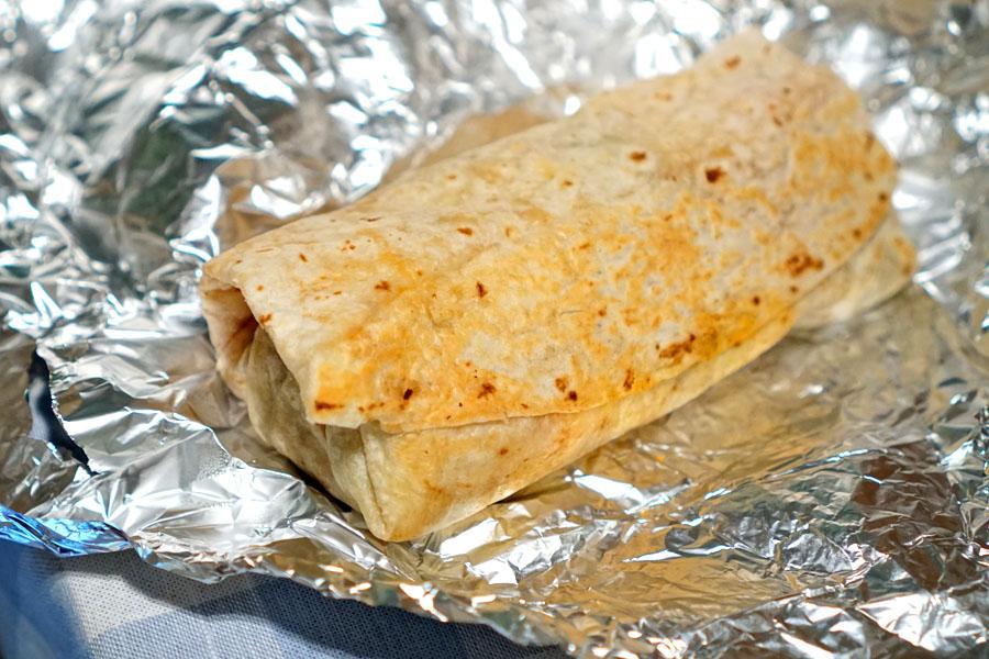 Breakfast Burrito (Unwrapped)
