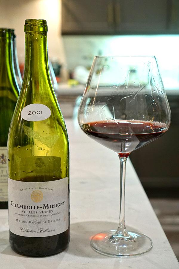 2001 Maison Roche de Bellene Chambolle-Musigny Collection Bellenum Vieilles Vignes
