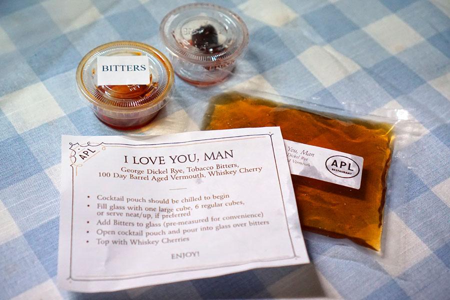 I Love You Man (Individual Ingredients)