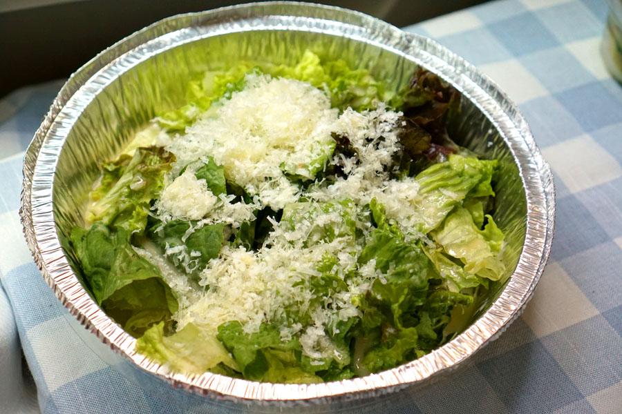 ensalada cesar (Assembled)