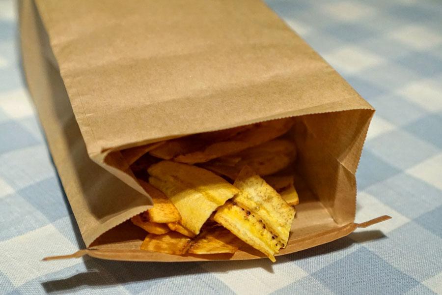 Mariquitas con Vinagreta (Bag Opened)