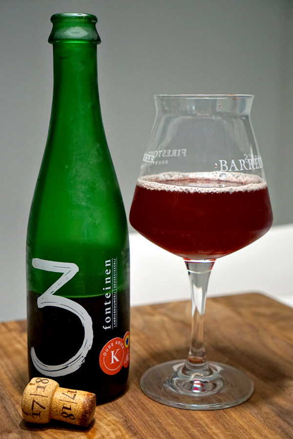 2018 Drie Fonteinen Oude Kriek with Honey