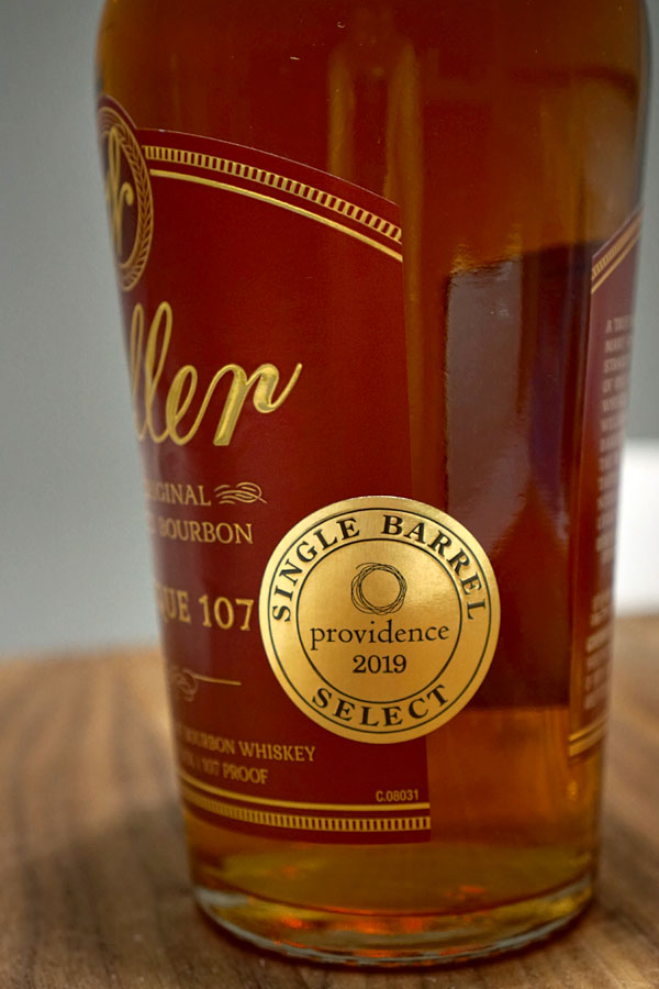 2019 Weller Antique 107 - Providence Single Barrel Select (Special Badge)