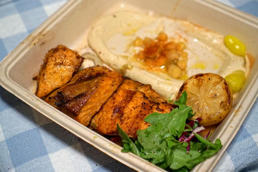 Fish Kebab Plate