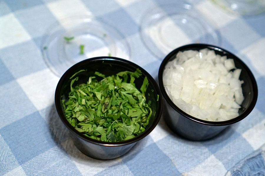 Cilantro & Onion