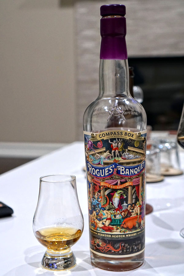 2020 Compass Box Rogues' Banquet