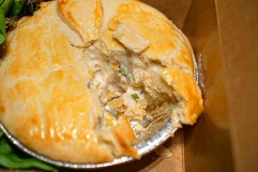 Brazilian Chicken Pot Pie (Interior)