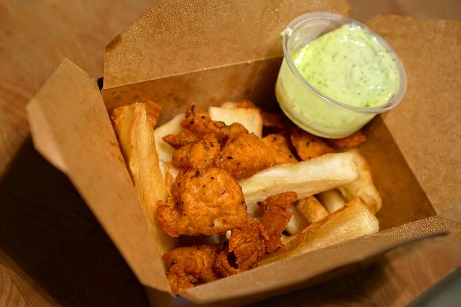 Crispy Chicken & Yucca Fries