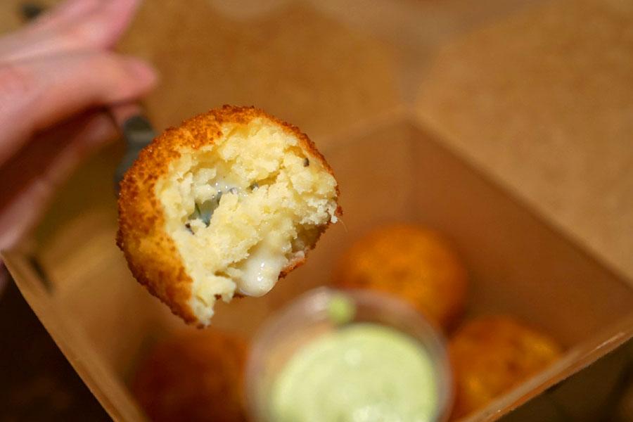 Potato Croquette (Interior)
