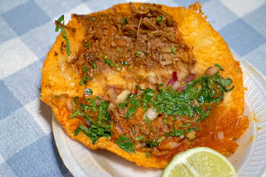 Beef Quesadilla (Open)