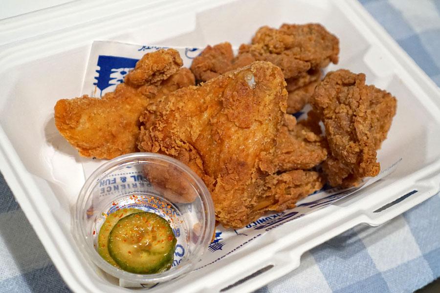 Mix Fried Chicken