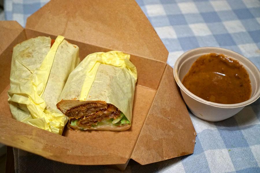 Beef Katsu Curry Dip Sandwich