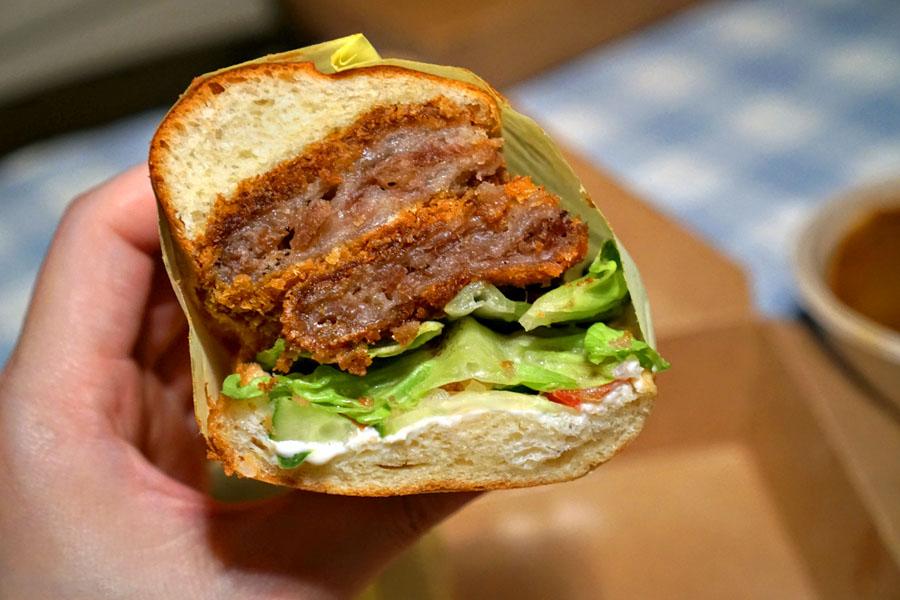 Beef Katsu Curry Dip Sandwich (Detail)