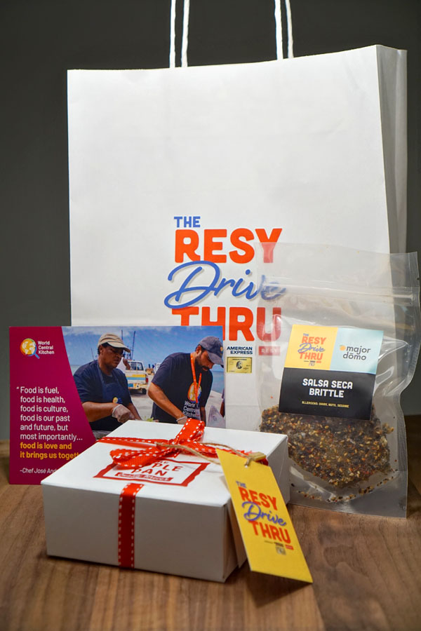 The Resy Drive-Thru Gift Bag