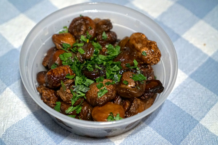 Wood-Grilled Mushrooms