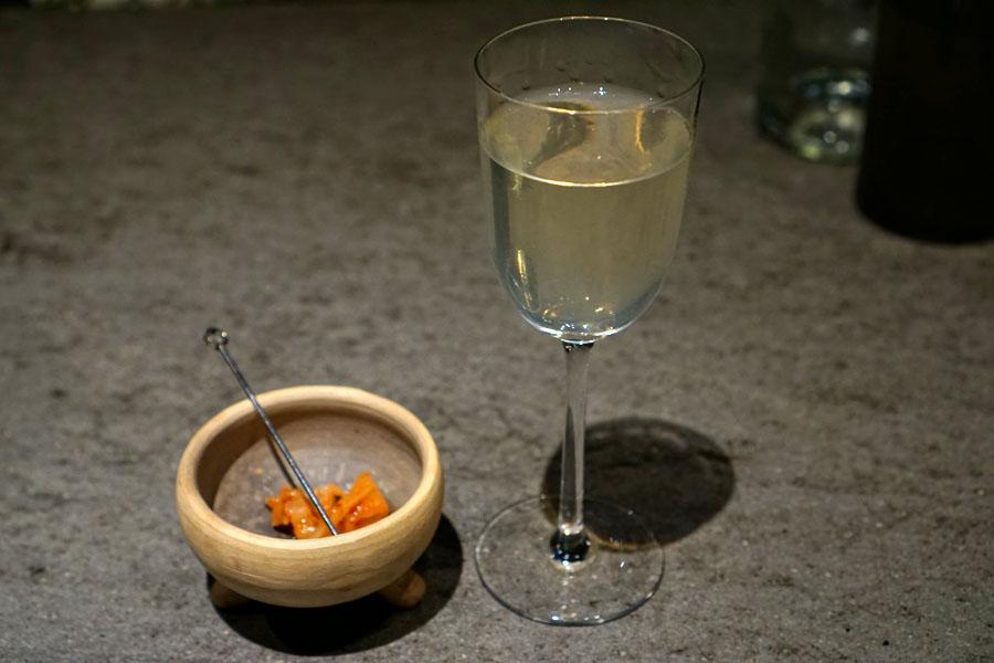 Kimchi Martini