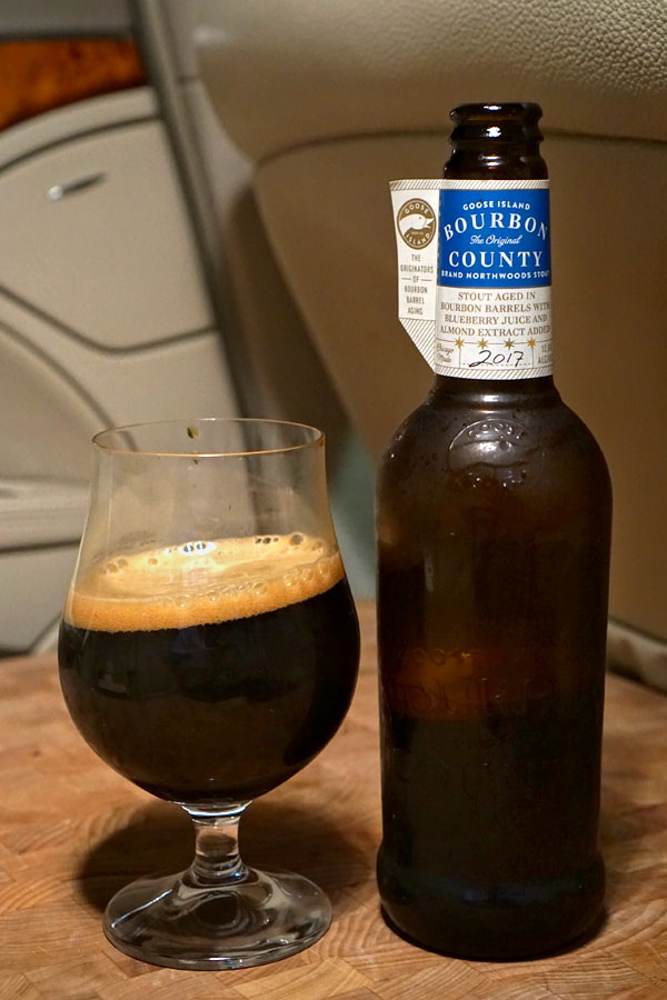 2017 Goose Island Bourbon County Brand Northwoods Stout