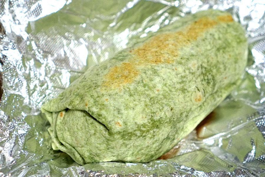 Arroz con Pollo Burrito (Unwrapped)