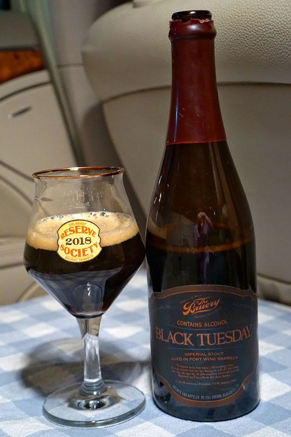2017 The Bruery Port Wine Barrel Aged Black Tuesday