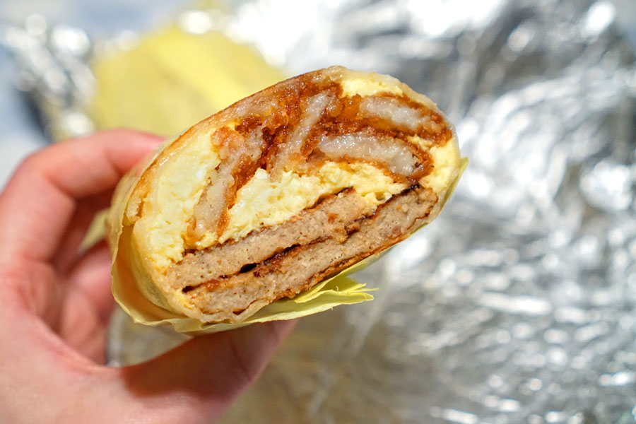 Breakfast Burrito (Interior)