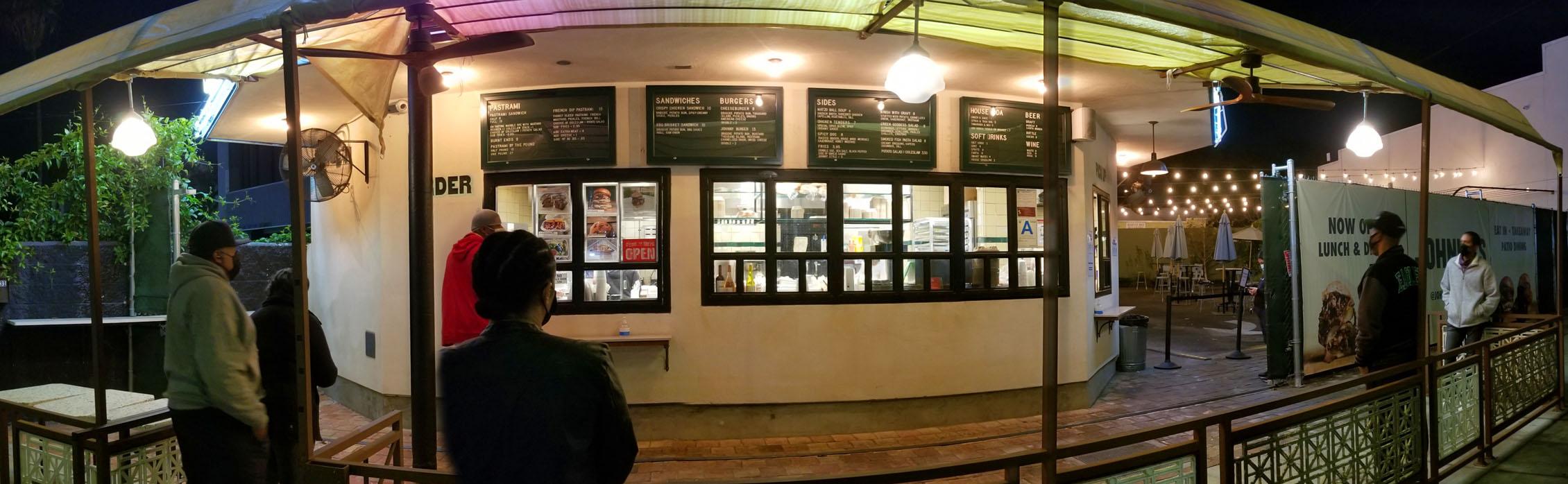 Johnny's West Adams Ordering Window