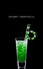 Vespertine Alinea Menu: Aviary Cocktails